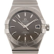 Omega Constellation Men Zeljezo 38mm Siv