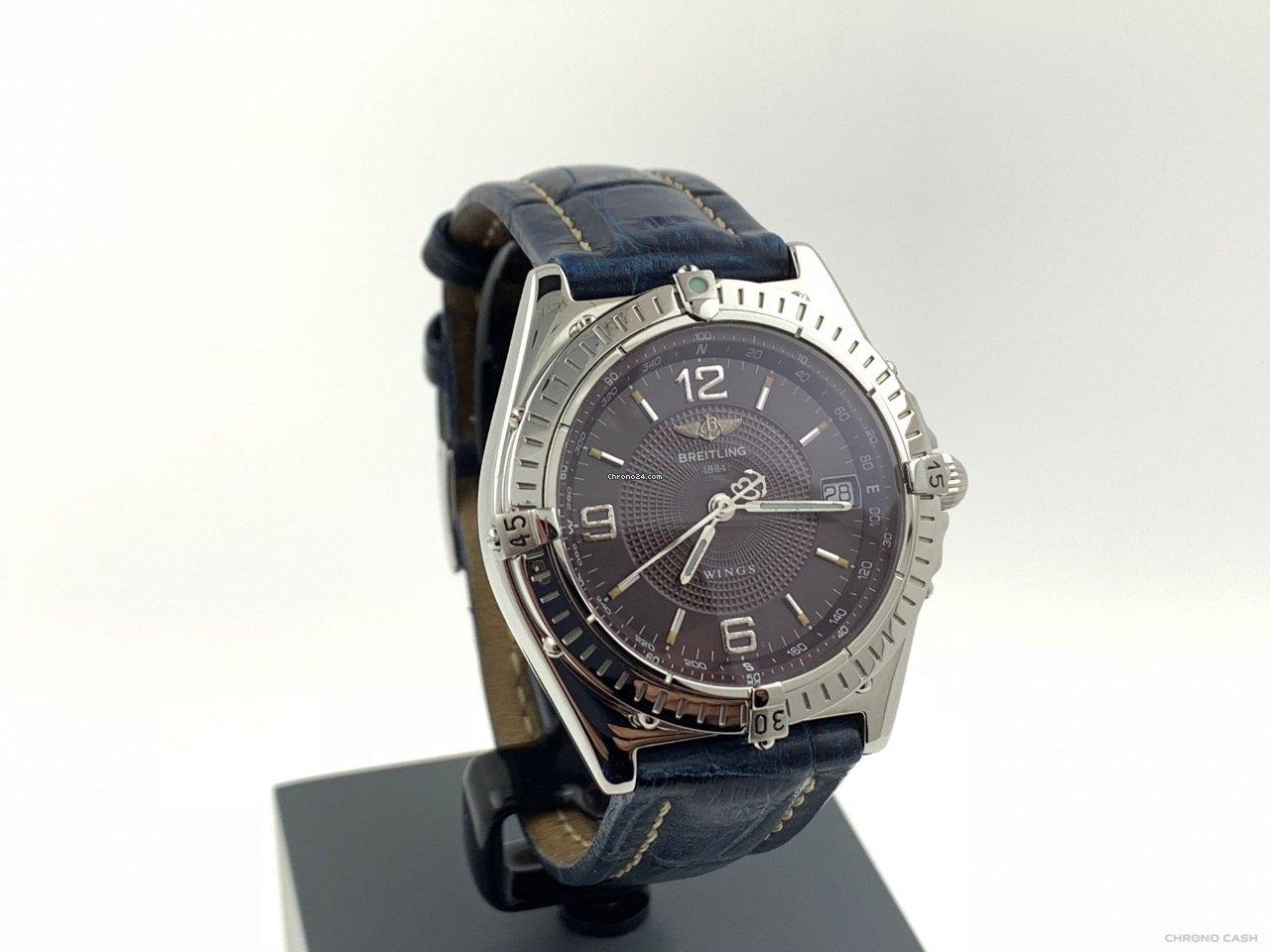 3680ab908c2 Relógios Breitling usados - Compare os preços de relógios Breitling usados