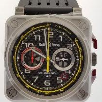Bell & Ross BR 03-94 Chronographe Titanium 42mm Black Arabic numerals