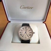 Cartier Ronde Solo de Cartier Stål 42mm Sølv Romersk Norge, Søreidgrend
