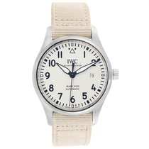 IWC Pilot Mark Steel 40mm Silver Arabic numerals United States of America, Georgia, Atlanta