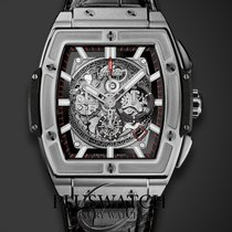 Hublot Spirit of Big Bang Titanio 42mm Trasparente Italia, l'aquila