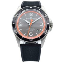Bell & Ross Steel 41mm Automatic BRV292-ORA-ST/SRB new United States of America, Indiana, Carmel