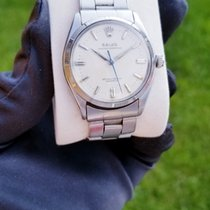 Rolex Oyster Perpetual 34 Steel 34mm Silver No numerals United States of America, New York, Woodbury