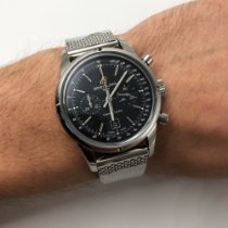 Breitling Transocean Chronograph 38 new 2013 Automatic Chronograph Watch with original box A4131012/BC06-171A