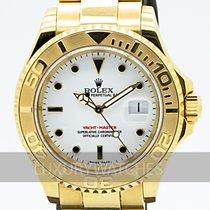 Rolex Yacht-Master Or jaune 40mm Blanc