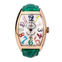 Franck Muller Rose gold 54mm Automatic NO.30/8880 pre-owned