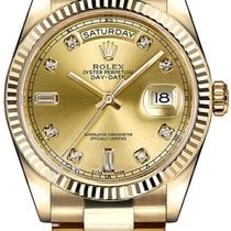 Rolex Day-Date 36 Yellow gold 36mm Champagne United States of America, New York, NY