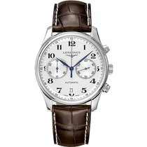 Longines Steel Automatic White Arabic numerals 40mm new Master Collection