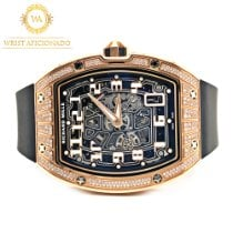 Richard Mille Rose gold Automatic Transparent Arabic numerals 38.7mm pre-owned RM 67