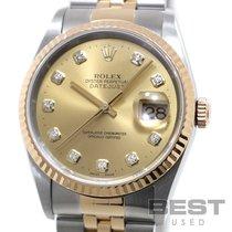 Rolex Datejust Золото/Cталь 36mm