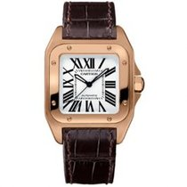Cartier W20108Y1 Santos 100 44.2mm new United States of America, Pennsylvania, Holland