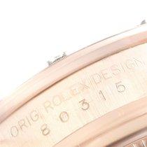 Rolex Rózsaarany Automata Gyöngyház Római 29mm használt Lady-Datejust Pearlmaster