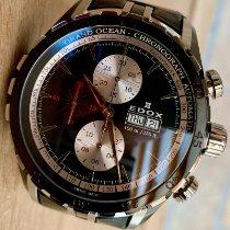 Edox Grand Ocean Steel 48mm Black No numerals