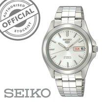 Seiko 5 Steel 37mm White
