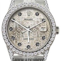 Rolex Datejust Men's 36mm Light Champagne Dial Stainless Steel...