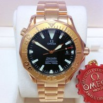 Omega Seamaster Or rose 41mm Noir
