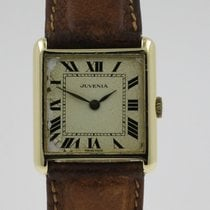 Juvenia Yellow gold 25mm Manual winding pre-owned