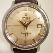 Omega Constellation acier, Automatique à quantième, chronomètre