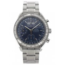 Omega Speedmaster Triple Date Chronograph 3523.80 W/ Box And...