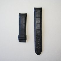 Tissot Leather Strap  Black 22mm XL