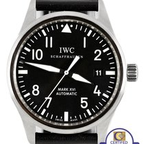 IWC Classic Pilot Mark XVI Black 39mm Stainless Date IW325501...