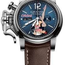 "Graham Chronofighter Vintage Noseart Ltd. Edition ""Chloé"""""