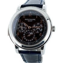 Patek Philippe Minute Repeater Perpetual Calendar pre-owned 42mm Platinum