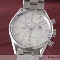TAG Heuer Carrera Calibre 1887 Steel 40.5mm Silver