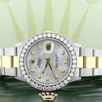 Rolex Oyster Perpetual Date Acier 34mm Nacre