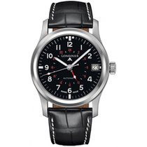 Longines Avigation Steel 44mm Black Arabic numerals United States of America, New York, New York