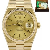 Rolex Day-Date Oysterquartz Yellow gold 36mm Champagne United States of America, New York, Massapequa Park