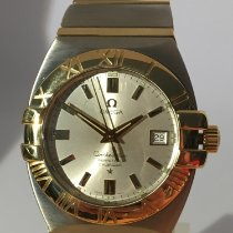 Omega Constellation Double Eagle Goud/Staal Zilver Geen cijfers