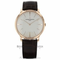Vacheron Constantin Ouro rosa 40mm Corda manual 81180/000R-9159 novo