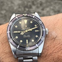 Rolex 5508 Steel 1962 Submariner (No Date) 37mm pre-owned
