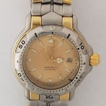 TAG Heuer 6000 Gold/Steel 30mm Champagne United States of America, California, Los Angeles