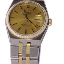 Rolex Datejust Oysterquartz Acero y oro 36mm Oro Sin cifras