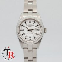 Rolex Oyster Perpetual Lady Date Acero 26mm Blanco Romanos España, Madrid