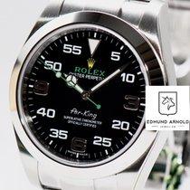 Rolex Air King Steel 40mm Black