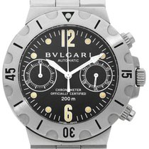 Bulgari Diagono SCB38S 2008 pre-owned