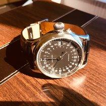 Longines Twenty-Four Hours Steel 47.5mm Black Arabic numerals