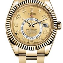 Rolex Sky-Dweller Yellow gold 42mm
