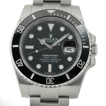 Rolex Submariner Date Steel 40mm Black United States of America, New York, New York