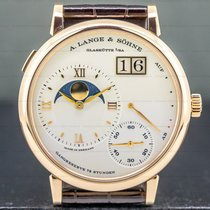 A. Lange & Söhne Grand Lange 1 Rose gold 41mm Silver Roman numerals United States of America, Massachusetts, Boston