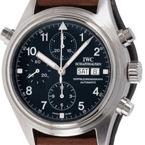 IWC Pilot Double Chronograph IW3713-02 2004 pre-owned