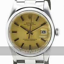 Rolex Oyster Perpetual Date Steel 34mm Gold