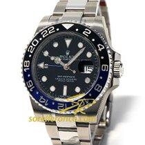 Rolex GMT Master II BATMAN NUOVO con PLASTICHE 116710BLNR Blu...