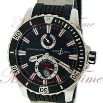 Ulysse Nardin Diver Chronometer Steel 44mm Black No numerals United States of America, New York, New York