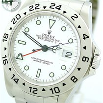 "Rolex Explorer II 16570 von 1999 ""Full Set"" LC110"