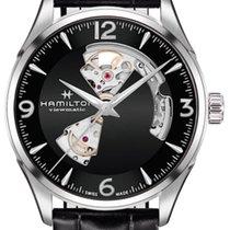 Hamilton Jazzmaster Open Heart Steel 42mm Black